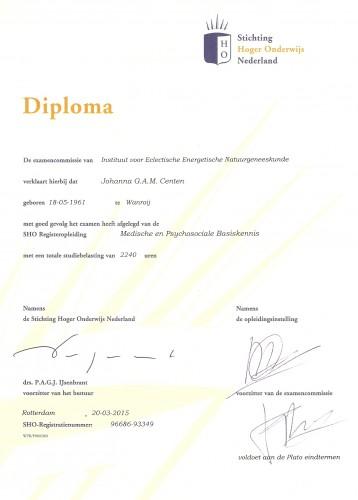 Diploma SHO